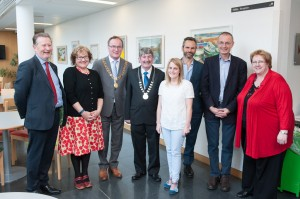 In this picture: Cork Counselling Services' Friend Not Foe Conference Launch: Chairman Eamonn Kiely, Dr Kate Kirk, Lord Mayor Cllr Des Cahill, Deputy County Mayor Cllr Kevin Conway, Laura Maybury, Prof Mick Cooper, Hugh Morley and Karen Walsh. Photograph by Rob Lamb